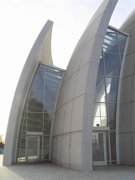 iconic architecture iconic modern architecture jubilee church in rome by