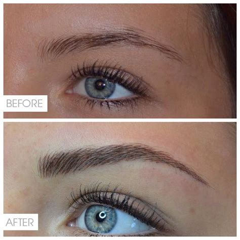 feather eyebrow tattoo 1000 ideas about permanent eyebrows on