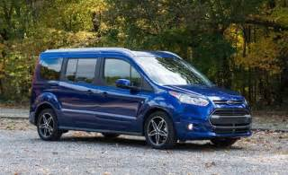 Ford And Connected Car Take 2016 Ford Transit Connect Wagon Review Car