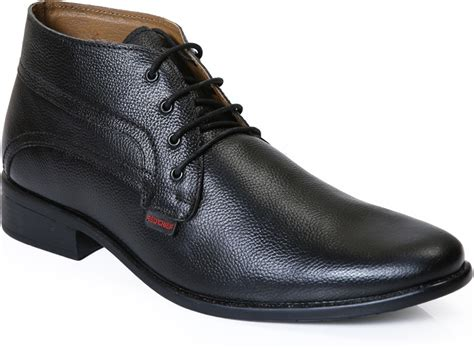 red chief rc boots  men buy black color red chief rc boots  men