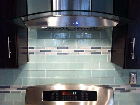 retro subway tile backsplash glass subway tile