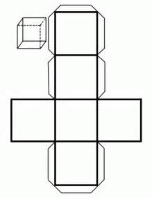 cubo figura geom 233 trica colouring pages