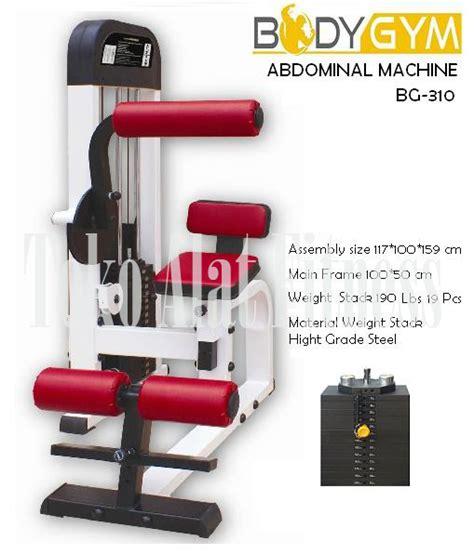 Kursi Alat Fitness Bench Press Abdominal Exercise abdominal machine bga310 toko alat fitness