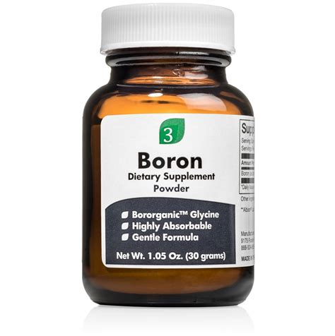 Boron Detox by Boron Mineral In Food Foodfash Co