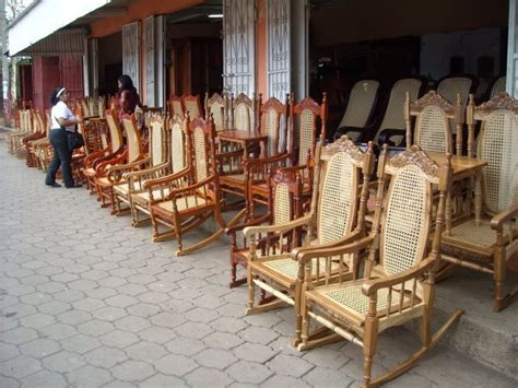 Nicaraguan Rocking Chairs by Rocking Chairs In Masaya Nica Photo