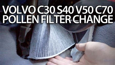2007 volvo s40 filter how to change pollen filter volvo c30 s40 v50 c70 cabin