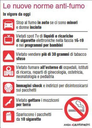 shock contro il fumo regole anti fumo scattano nuovi divieti e multe l