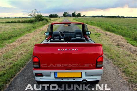 subaru mini subaru mini jumbo cabriolet 1992 foto s 187 autojunk nl 173564