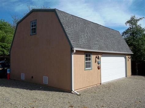 24x30 Garage by High Barn Garages Creek Mini Barns Inc