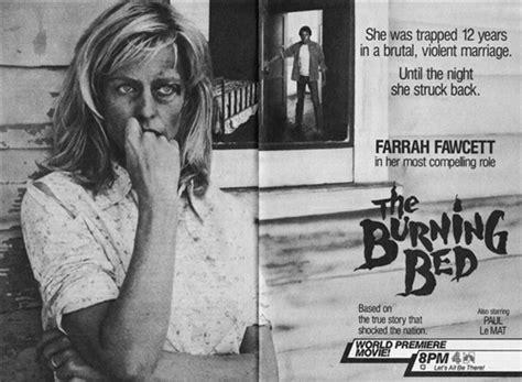 burning bed movie mickey hughes burning bed