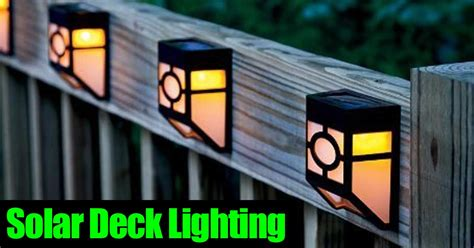 solar deck lighting landscape and deck solar post lighting all automatic