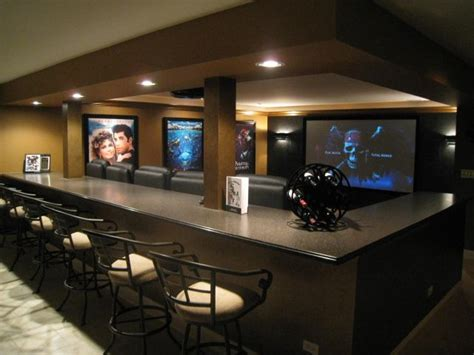 home theater design new york city bar behind theater seats theater sports wall pinterest