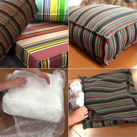 Diy Patio Furniture Cushions Cushion Covers For Outdoor Furniture Peenmedia
