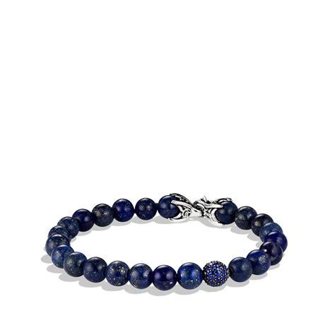david yurman bead bracelet david yurman spiritual bracelet with lapis lazuli