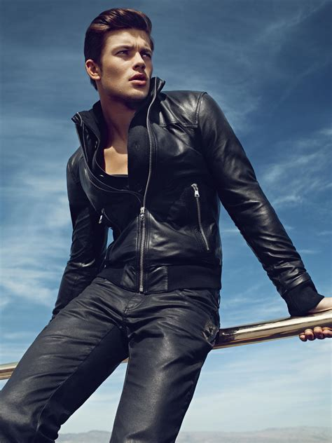 design jacket models guess fall winter 2012 13 by hunter gatti