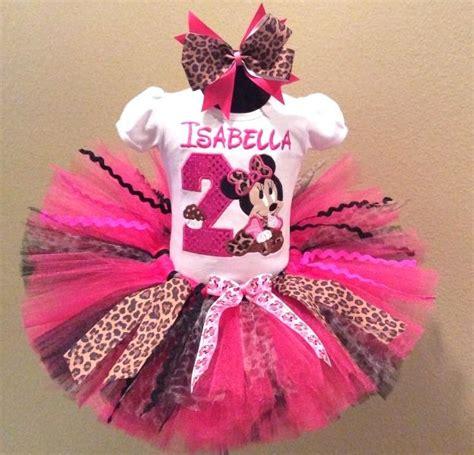 Set Tutu Mickey 3 9bulan hbb baby minnie mouse pink leopard cupcake