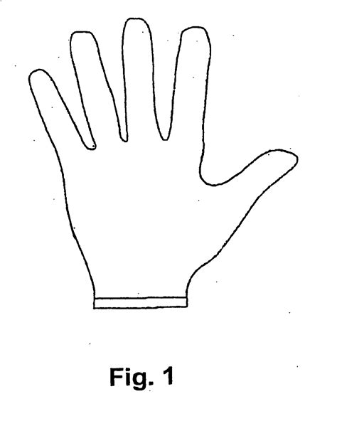 Drawing Glove by Patent Ep1644938b1 Radiation Protection Material