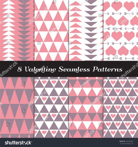 tribal pattern pink and gray pink purple gray tribal geometric seamless stock vector