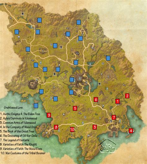 eso skyshard map eso grahtwood skyshards guide dulfy