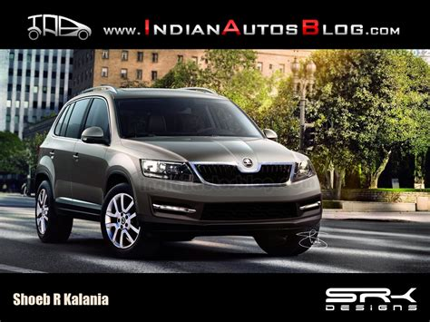 vw snowman rendering skoda snowman could grace dealerships by 2016