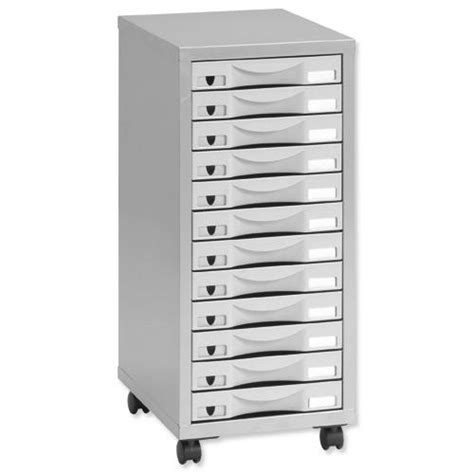 Pierre Henry Multi Drawer Storage Cabinet Steel 12 Drawers