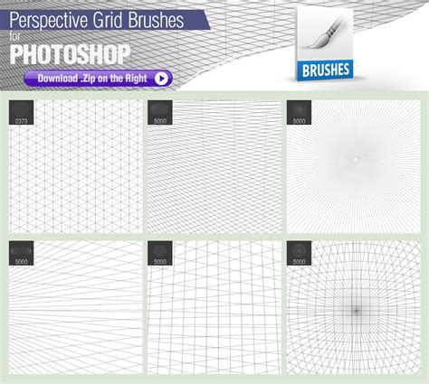 layout grid photoshop pixelstains perspective grid brushes by pixelstains on