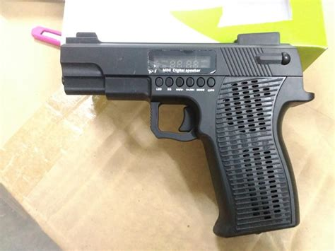 mp3 speaker pistol shape with f end 12 17 2017 6 39 pm