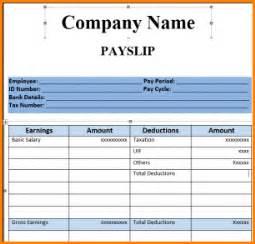 malaysia payslip template salary slip format in excel malaysia payslip template