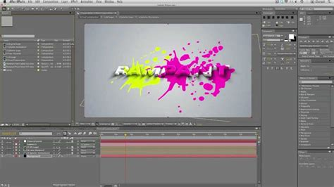 youtube tutorial paint after effects tutorial create a 3d logo with animated
