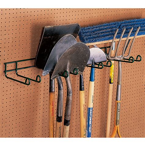 heavy duty tool hanger four place garage