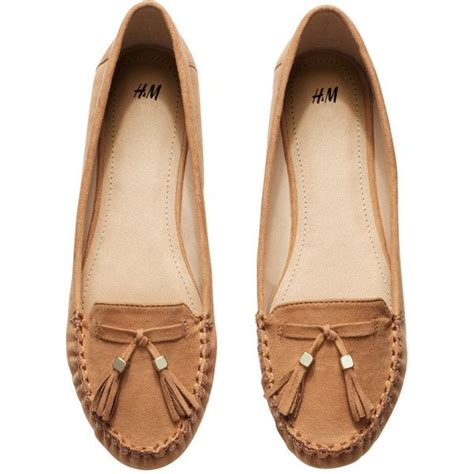 polyvore loafers h m loafers with tassels 15 cad liked on polyvore