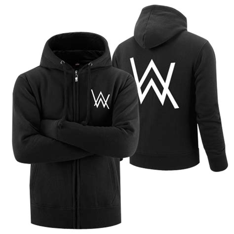 Jaket Hoodie Zipper Anak Logo Dj Alan Walker Marshmello Unisex compare prices on standard walkers shopping buy