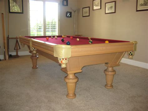 before and after mended pool table legs dk billiards