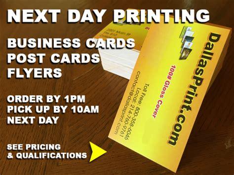 Business Card Printing Dallas Tx