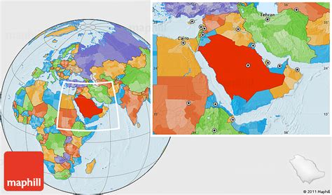 where is saudi arabia on the world map political location map of saudi arabia