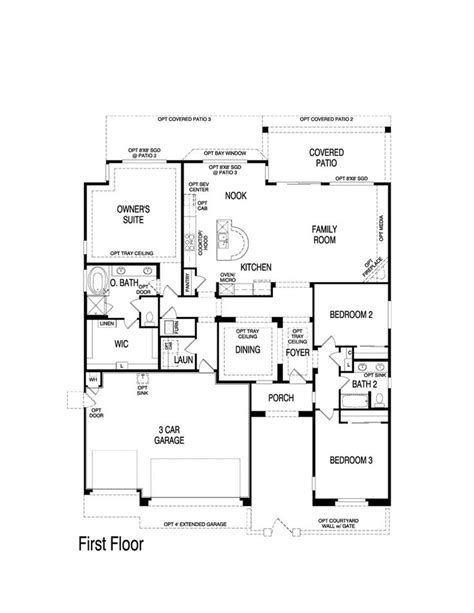 pin by nm home team on pulte homes floor plans