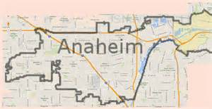 anaheim california maps map of anaheim california california map