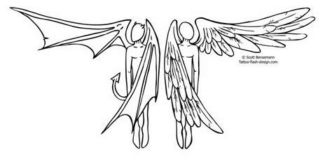 tattoo design stencils angel and devil tattoo stencils hot girls wallpaper