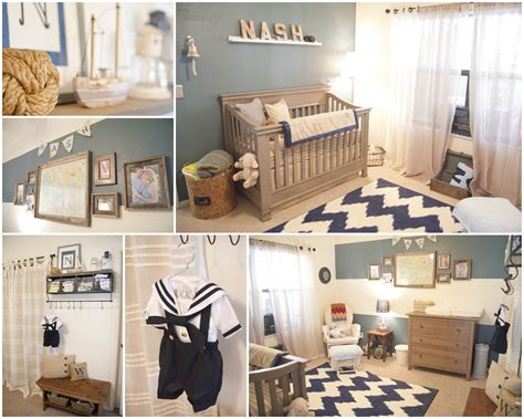baby nashs vintage nautical nursery project nursery