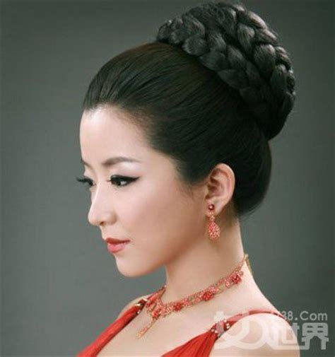 how to do chinese hairstyles traditional chinese braided updo hairstyle and hair