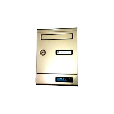 cassetta alluminio cassetta postale alluminio bronzato