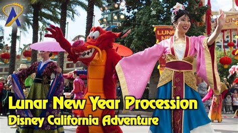 new year procession mulan s lunar new year procession 2018 at disney