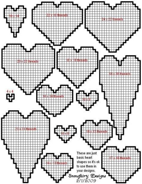 heart pattern for plastic canvas plastic canvas heart patterns via samantha begay