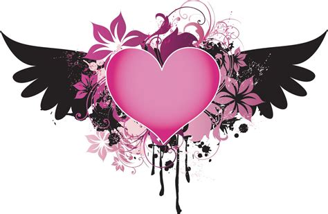 pink heart tattoo designs designs quot free