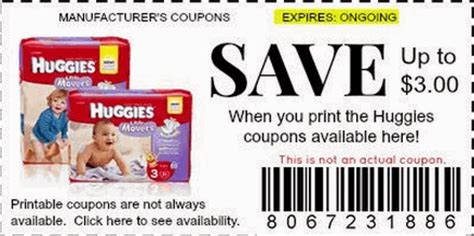 Printable Diaper Coupons August 2015 | free diaper coupons printable coupons online