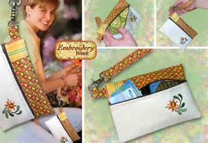 sew 4 home embroidery week wristlet sew4home