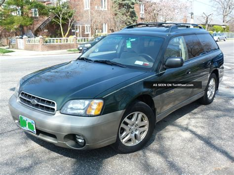 Subaru Outback 2001 by 2001 Subaru Outback With Tires