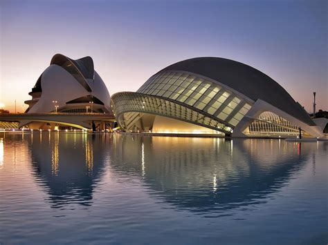 the city of arts and sciences by santiago calatrava and felix candela the city of arts and sciences valencia the city of
