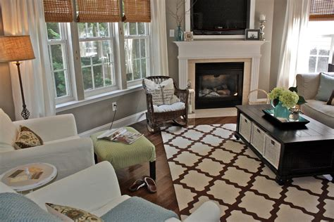 trellis rug living room trellis rug in living room eclectic with gray paint color next to grey brown alongside