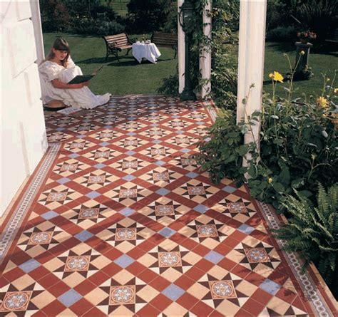 conservatory floor tiles